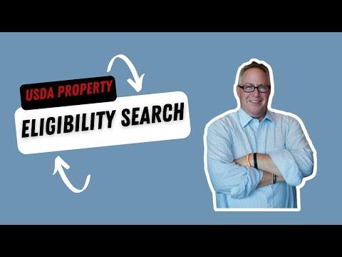 USDA Property Eligibility Search