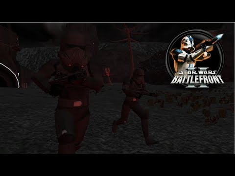 Star Wars Battlefront II Mod - Shola: Firefight - GCW - w/ Death Troopers
