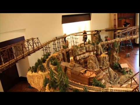 Jingle Rails at Eiteljorg Museum featuring Paul Busse and Applied Imagination