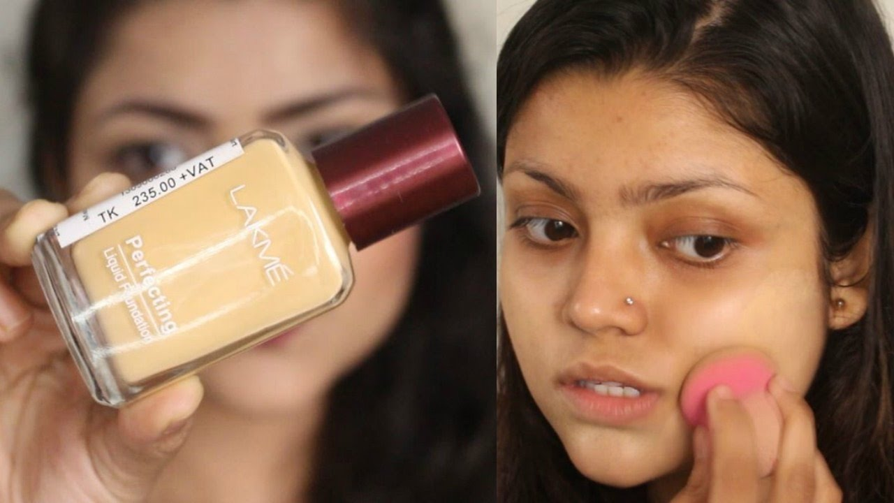 Lakme Perfecting Liquid Foundation Review Demo Affordable