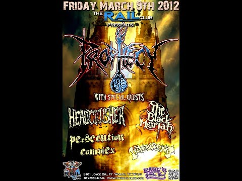 "3-9-12 PROPHECY - ""Don't Fuckin' Mess With Texas"" - The Rail Club - Fort Worth, TX!"