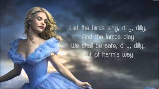 Lavender's Blue Dilly Dilly - Lyrics (Cinderella 2015 Movie Soundtrack Song) シンデレラ 検索動画 17