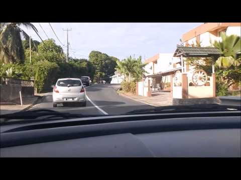 Trip to Seychelles (31.) - Mahe from car