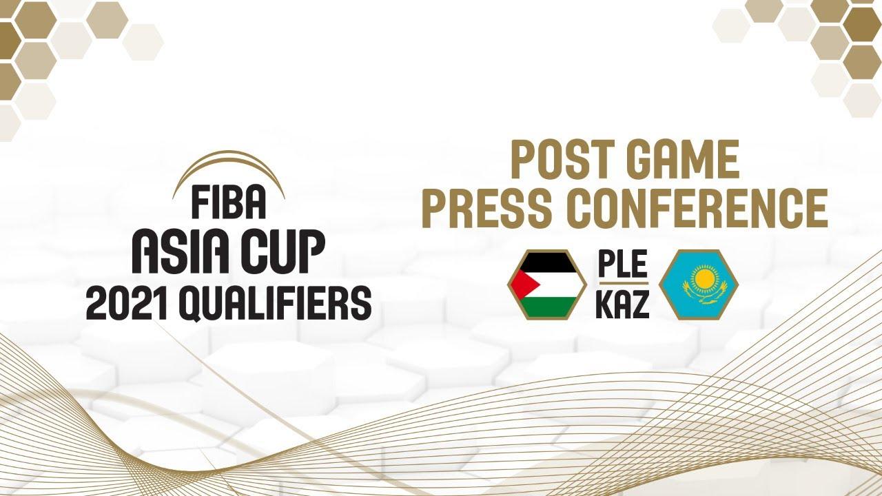 Palestine v Kazakhstan - Press Conference