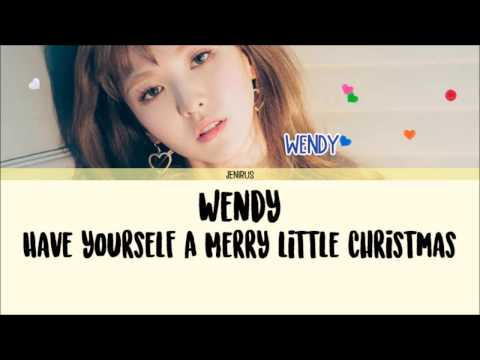 Wendy, Jung Jae Moon, Nile Lee – Have Yourself A Merry Little Christmas Lyrics