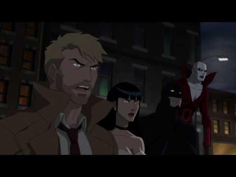 Batman face to face with Dementors: Justice League Dark