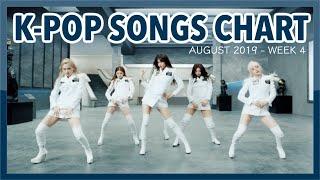 (TOP 100) K-POP SONGS CHART | AUGUST 2019 (WEEK 4)