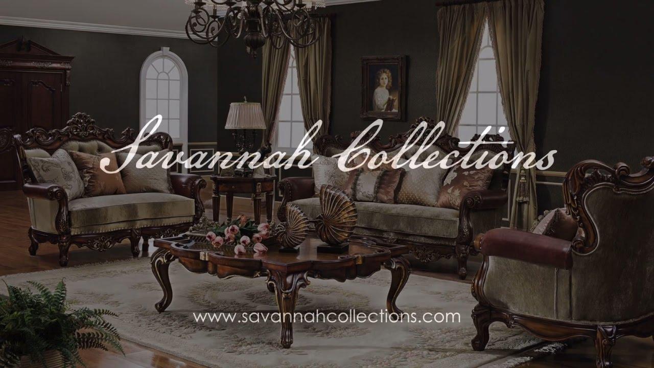 Victorian Living Room Victorian Living Room Collection In Antique Cognac By Savannah