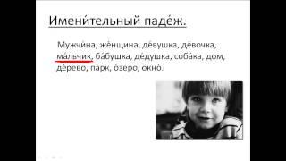 Бесплатный урок 20. Курсы русского как иностранного. Именительный падеж