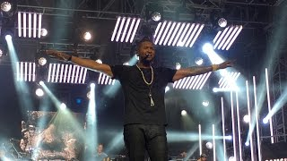 """Bump"" and ""Crash"" USHER Performs NEW SONGS on Jimmy Kimmel Live - West Hollywood, CA 9/20/2016"