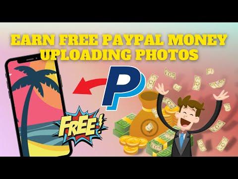 Earn Free PayPal Money Uploading Photos! (Make Money Online)