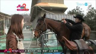 [ApinkNews2] Bomi Horse to the Back riding feat. Chorong (Part 1)