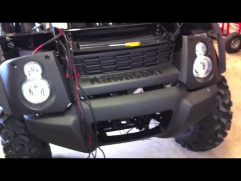 Kawasaki Mule 610 XC Project - Installing Accessories - YouTubeYouTube