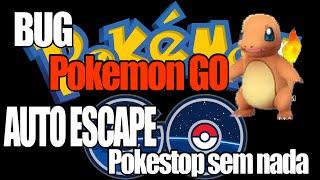 Como Resolver BUG das Pokestop sem nada e todos pokemons escapam POKEMON GO