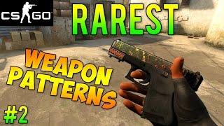 CS:GO - Rarest Gun Skin Patterns Part 2! (CS GO Rare Skins)