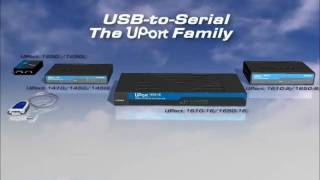 Moxa UPort USB to RS232/422/485 serial converter(Increase productivity of serial device connectivity with Moxa USB to serial converters. Moxa Uport USB to serial converters enables high throughput connectivity ..., 2011-04-29T09:13:21.000Z)