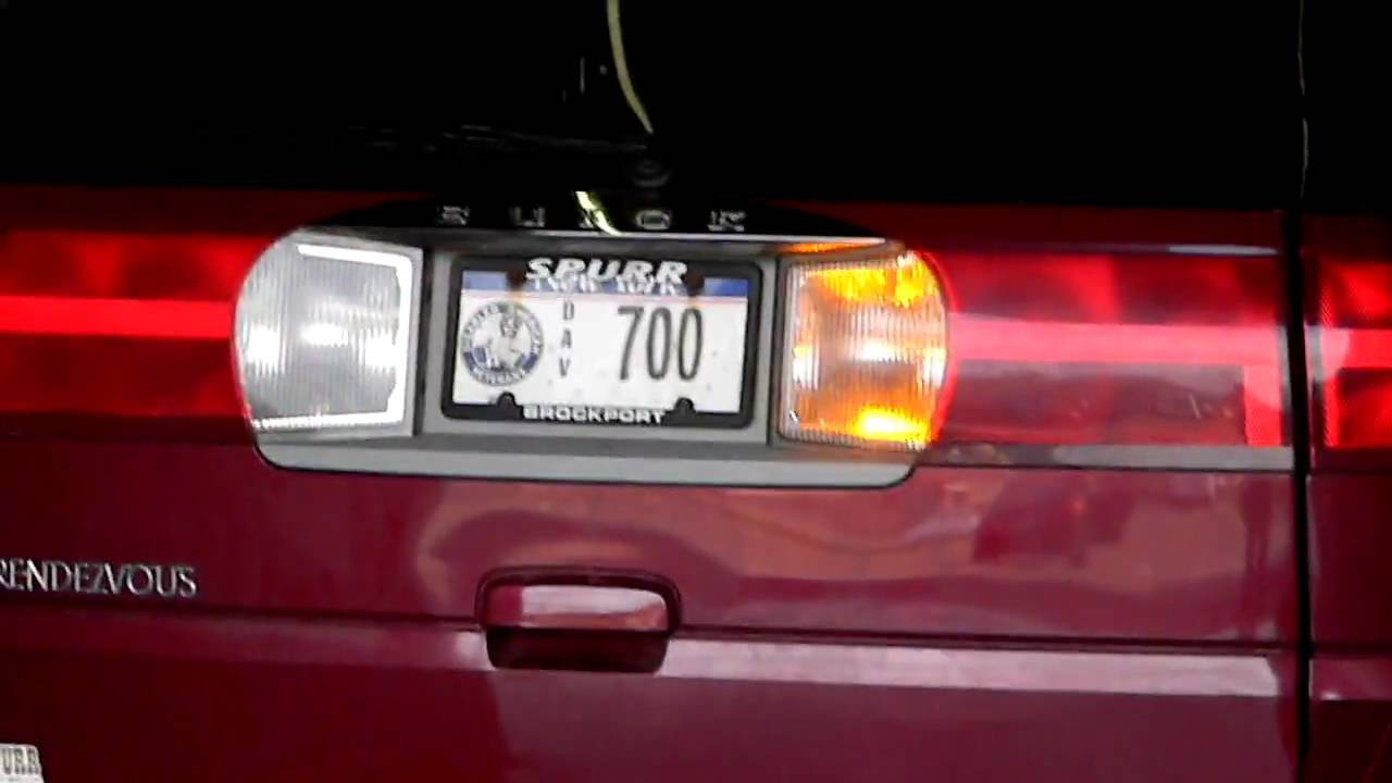 Buick Rendezvous Rear Lights Youtube. Buick Rendezvous Rear Lights. Buick. 2004 Buick Rendezvous Rear Light Wiring At Scoala.co