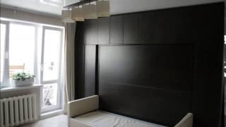 видео Кровати трансформеры ИКЕА, фото встроенной в шкаф мебели