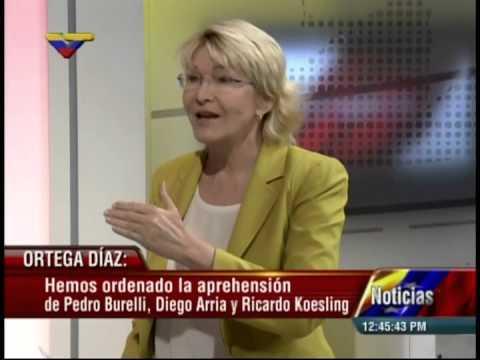 Fiscal Ortega Díaz: ordenan captura de Diego Arria, Koesling y Burelli por plan Magnicidio