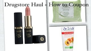 Drugstore Haul + LE Loreal Lipsticks+ How I Started Couponing for Beauty Products Thumbnail