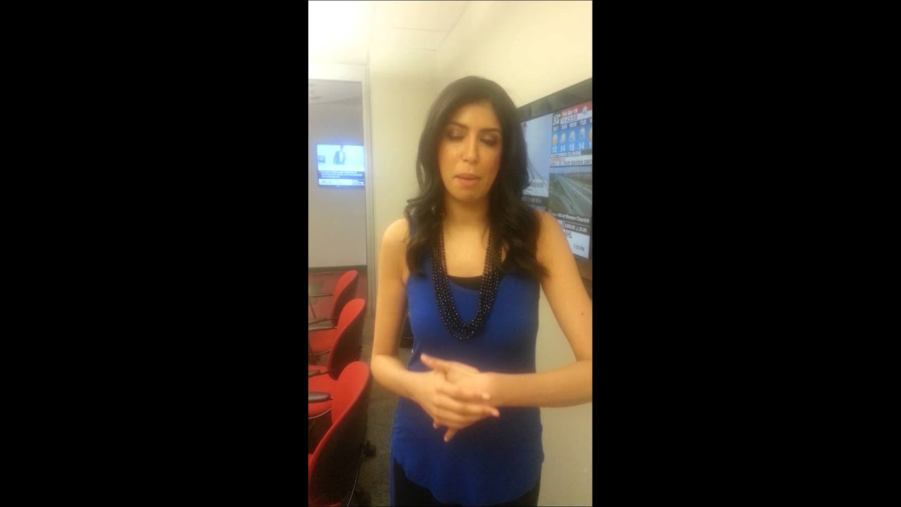CP24 anchor Pooja Handa wants to see you on May 4 - YouTube