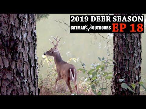 8 Point Buck Takes A Canoe Ride! The Soot Stick Speaks - 2019 Deer Season, Ep. 18