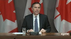 Finance min. & Bank of Canada governor on economic measures in response to COVID-19 - Mar. 18, 2020