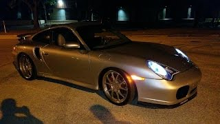 Porsche 911 Turbo vs MK7 Golf R vs Audi TTS & Fox Body Mustang