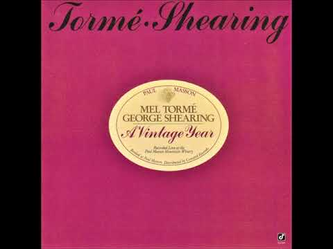 Mel Torme and George Shearing - New York New York Medley