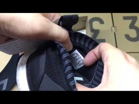 newest 954fe 4ac29 UA Adidas ACE16+ Pure Control Ultra Boost Ultrab Black White Review  ShoesGather