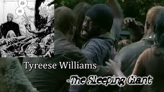 """""""The Walking Dead"""" I Tyreese Williams - The Sleeping Giant"""