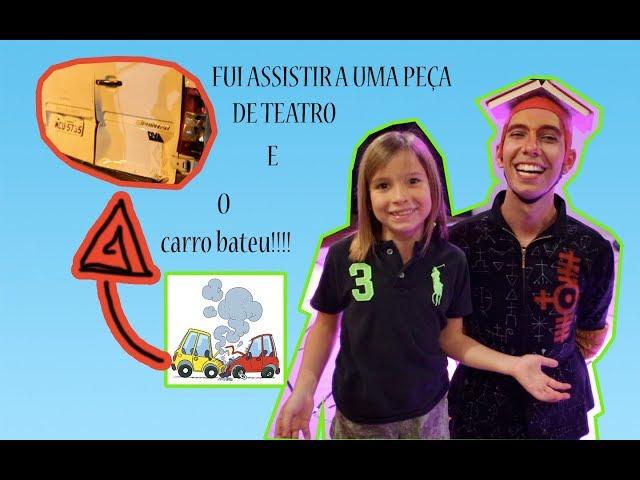 FUI ASSISTIR A UMA PEÇA DE TEATRO E O CARRO BATEU! - Aris.TV, Ep. 63
