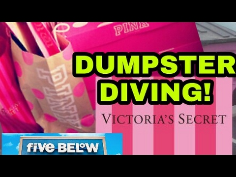 Thumbnail: FINDING MORE VICTORIA'S SECRET and FIVE BELOW DUMPSTER DIVING!!