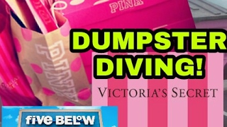FINDING MORE VICTORIA'S SECRET and FIVE BELOW DUMPSTER DIVING!! thumbnail