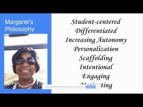 Margaret Jones Philosophy-EDCS 725