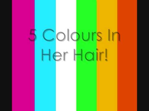 5 Colours In Her Hair Lyrics mp3