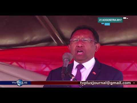 VAOVAO DU 21 AOUT 2017 BY TV PLUS MADAGASCAR