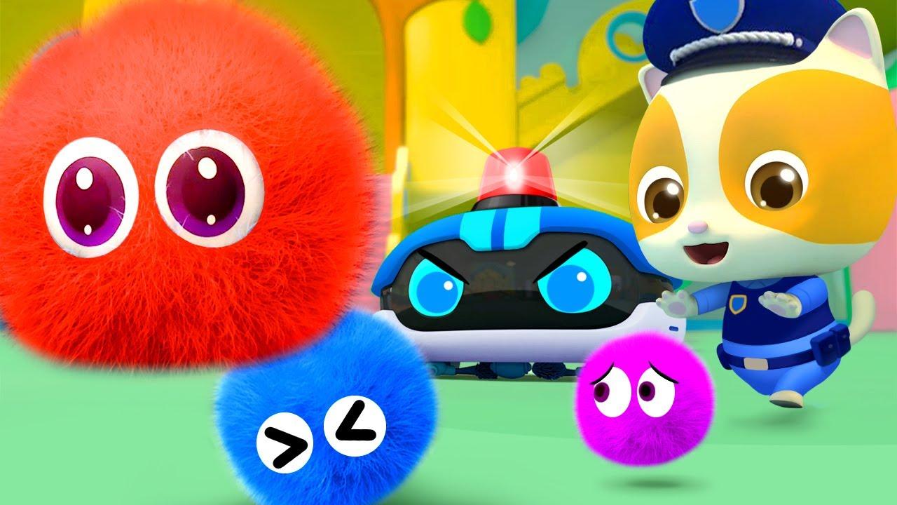 Пыль и роботы-пылесосы - Мультики для детей | Большой сборник песенок | BabyBus