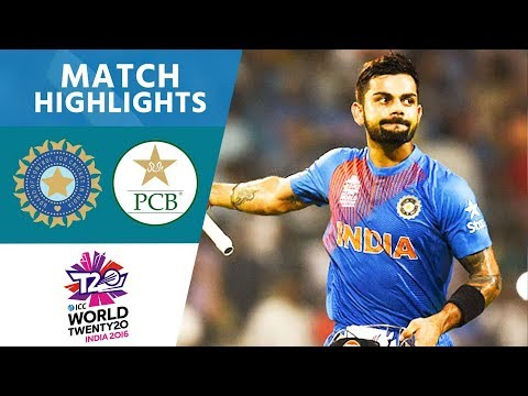 Kohli Stars In India Win | India Vs Pakistan | ICC Men's #WT20 2016 - Highlights