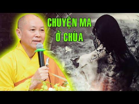 TT. THÍCH CHÂN TÍNH Kể Chuyện MA Tại Chùa Hoằng Pháp Ngồi Niệm Phật Không Nổi.
