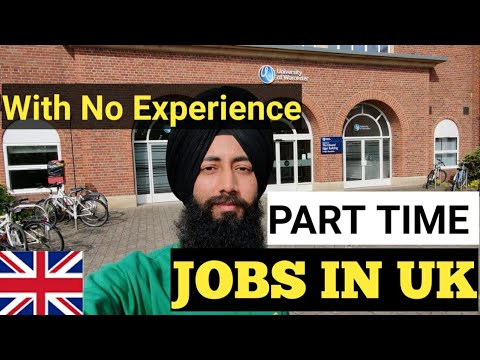 Best Part time Jobs for Indian Students in England,UK