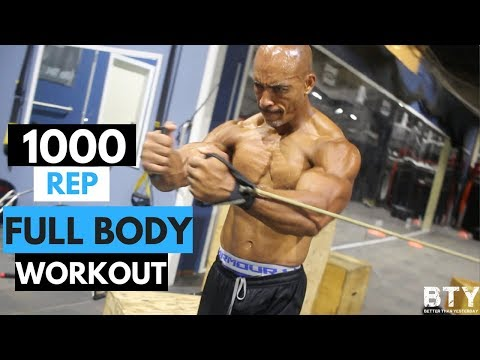 1,000 Rep Full-Body Workout: UMC (Ultimate Muscle Confusion)