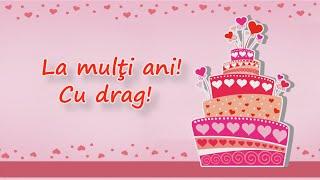 la multi ani felicitare cu ziua de nastere