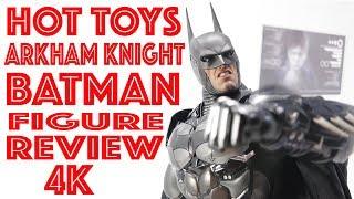 HOT TOYS VGM26  BATMAN ARKHAM KNIGHT BATMAN 1/6 SCALE FIGURE REVIEW 4K