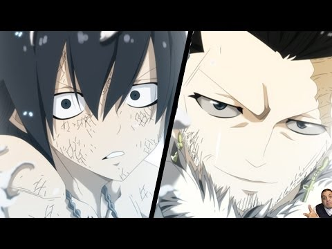Fairy Tail 386 Manga Chapter フェアリーテイル Review -- Spirit King Vs Mard Geer End + Gray Vs Silver