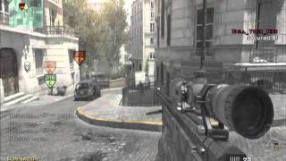 MW3 Quickscope Gameplay