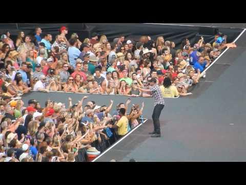 Cole Swindell Down Home Boys Ohio Stadium June 21st 2015
