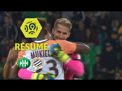 AS Saint-Etienne - Montpellier Hérault SC (0-1)  - Résumé - (ASSE - MHSC) / 2017-18