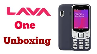 Lava One Mobile Unboxing | Lava Keypad Mobile | keypad phone under 1500