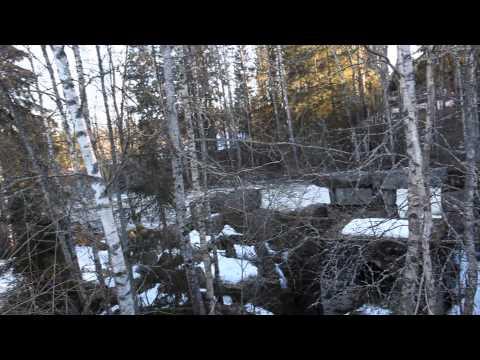 Waterfall in Orimattila, Finland